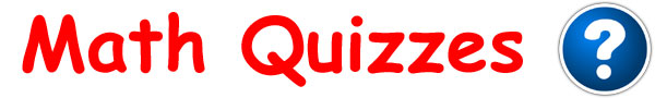Kids Math Quizzes Online