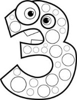 Number Coloring Pages for Kids Free Printable Math Worksheets