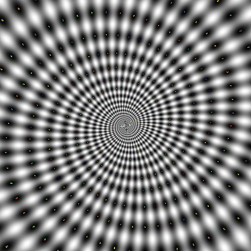 Relax and look deep into this optical illusion picture, you are getting sleepy, very sleepy.