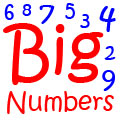 Big Numbers - Names of Large Numbers, Huge Numbers in Words