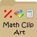 Free Math Clip Art - Numbers, Shapes, Symbols & More