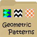 Pictures of Geometric Patterns, Tessellations & Designs