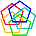 Interlaced Pentagons Picture