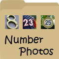 Number Photos - Images of Numbers in Real Life