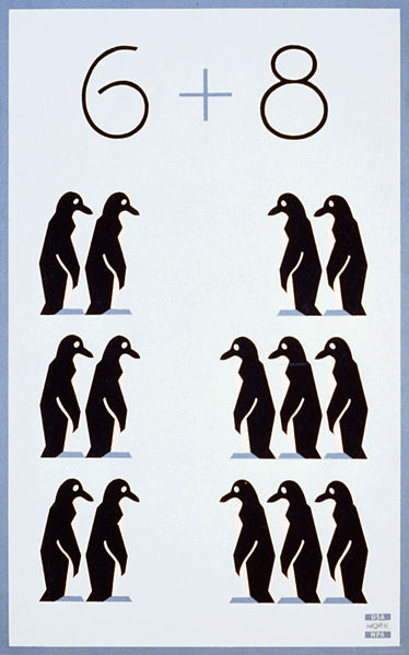 Penguin Addition Picture - Free Math Photos u0026 Images