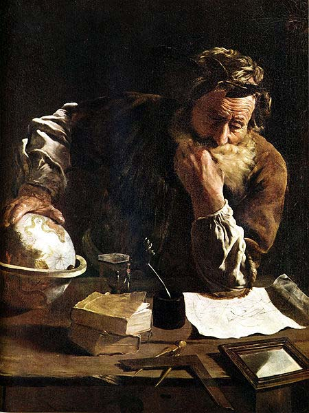 Born in 287 BC, Greek mathematician Archimedes is famous for his contributions to physics, engineering and astronomy as well as mathematics.
