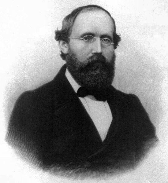 Born in 1826, German mathematician Bernhard Riemann is famous for his contributions to differential geometry and mathematical analysis.