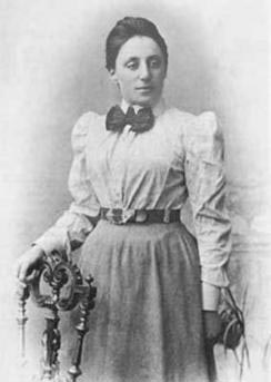 Born in 1882, German mathematician Emmy Noether is famous for her influential work on theoretical physics and abstract algebra. She was described by Albert Einstein as the most important woman in the history of mathematics.