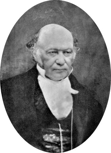 This retouched photo features Irish mathematician William Rowan Hamilton. Born in 1805, Hamilton is famous for his contributions to astronomy, classical mechanics, optics and algebra.
