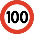 Number 100 - Free Picture of the Number One Hundred