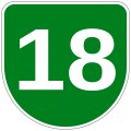 Number 18 - Free Picture of the Number Eighteen