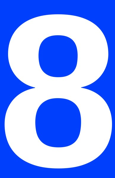 8 Of Hillary Clinton S Most Well Known New York Magazine: Free Picture Of The Number Eight