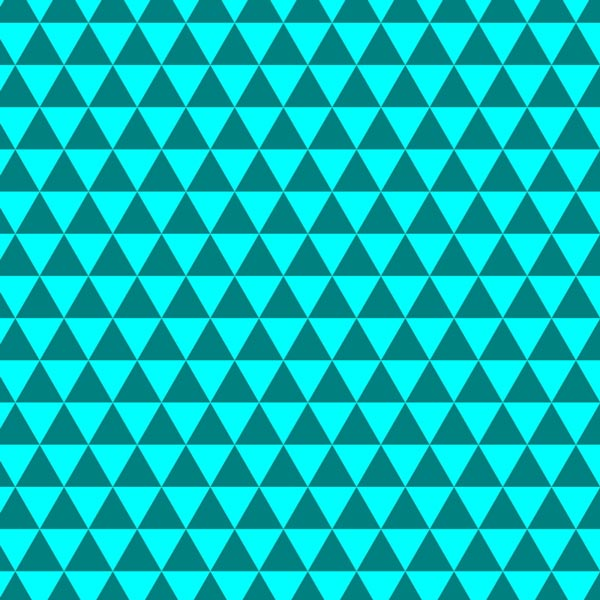 This pattern features an interlocked triangle tiling design that forms ...