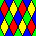 Colorful Diamond Pattern Picture