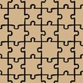 Jigsaw Pattern Picture