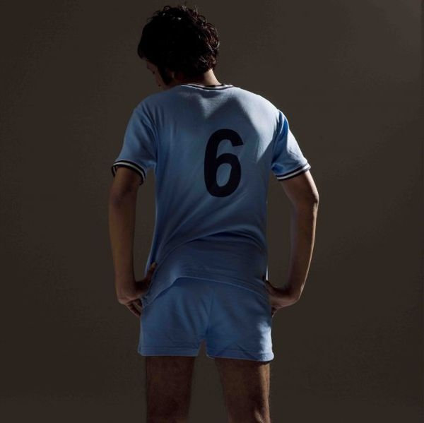 This photo shows the number 6 on a football shirt worn by an actor during the film 'Kallang Roar the Movie'.