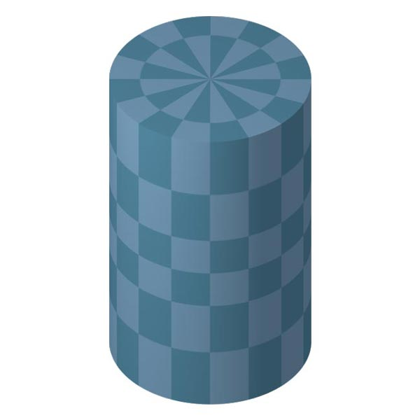 This picture features a cylinder. A cylinder is a curved 3D shape with 2 circle shapes at either end connected by straight parallel sides.