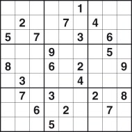 Printables Sudoku Worksheets challenging sudoku puzzles free printable worksheets puzzle number 2