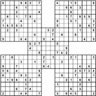 21 number game sudoku 5 star