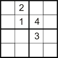 Easy Printable Sudoku Puzzle Number 4