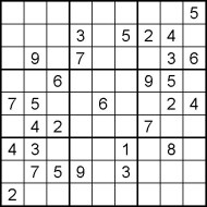 Hard Printable Sudoku Puzzle Number 2