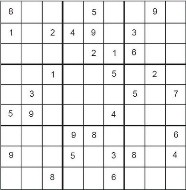 Hard Printable Sudoku Puzzle Number 6
