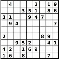 Medium Printable Sudoku Puzzle Number 1