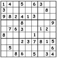 Medium Printable Sudoku Puzzle Number 2