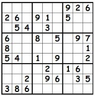 Medium Printable Sudoku Puzzle Number 3