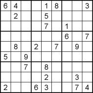 Medium Printable Sudoku Puzzle Number 8