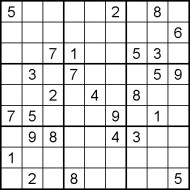 Medium Printable Sudoku Puzzle Number 9