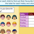 data chart for kids pictograph learn about tables charts graph frequency math data game for kids